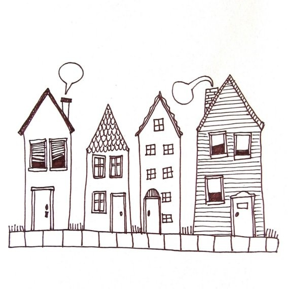 pen & ink by lauraprentice $18 on etsy
