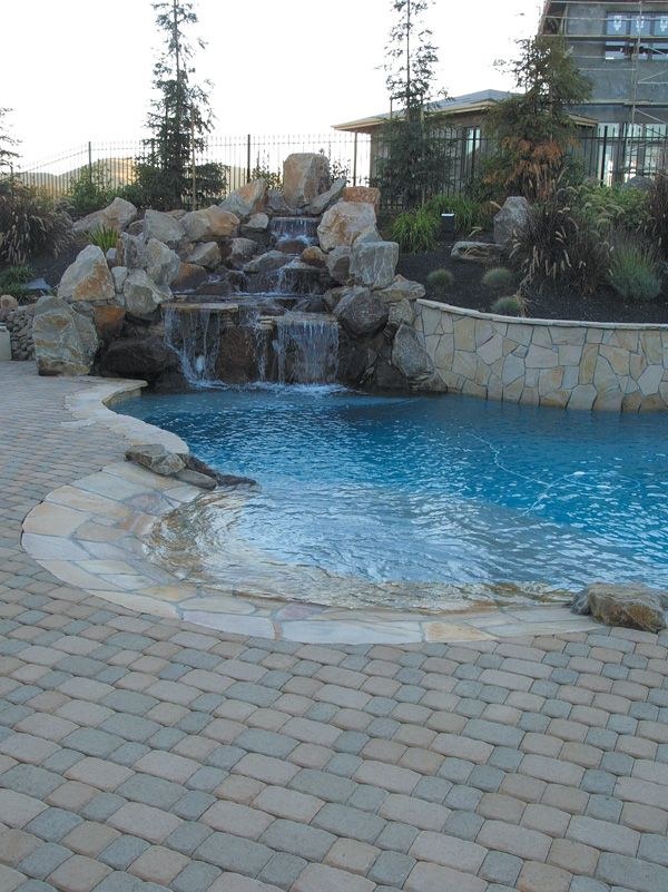 18 Best Paver Pool Party Images On Pinterest Pool