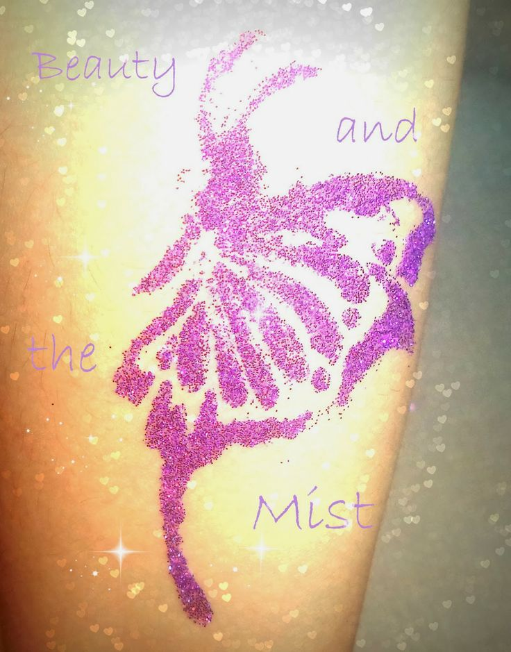 Beauty and the Mist - everything about beauty: Glitter Tattoo Tutorial
