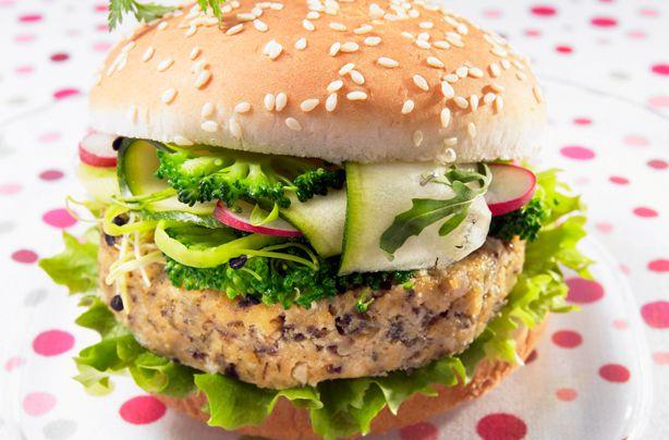 Bean burgers recipe - Recipes - goodtoknow