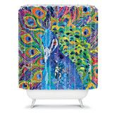 Found it at Wayfair - Elizabeth St Hilaire Nelson Cacophony of Color Polyester Shower Curtain