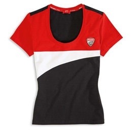 Sexy Ducati Shirt for my wife to wear..
