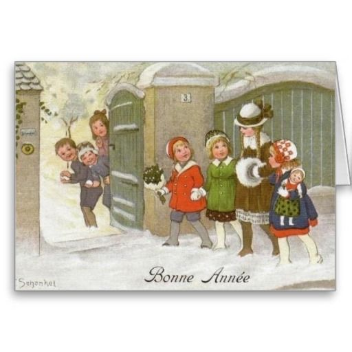 18 best vintage new year cards images on pinterest new year vintage french new year greeting card m4hsunfo