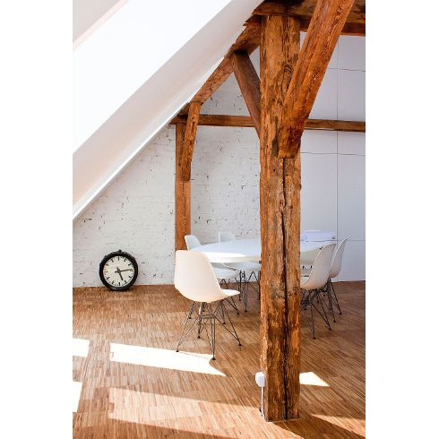 And then there was light. Converting an attic into an office. - Livegreen Blog /// #office #conversion