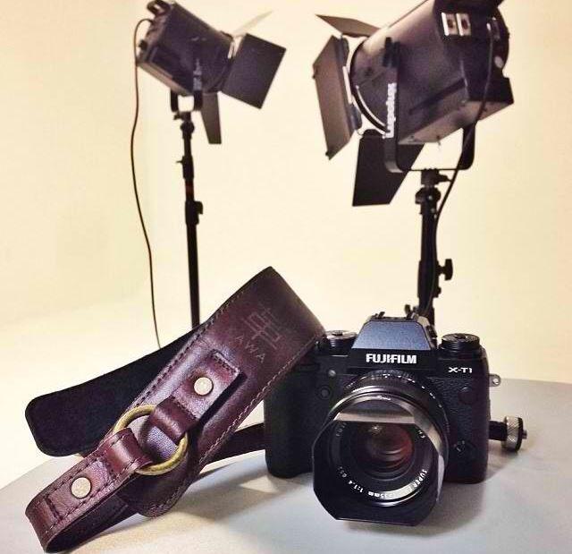 Fujifilm XT1 Mirrorless Digital Camera and KAWA PRO GEAR Leather Camera Strap | available at www.kawaprogear.com
