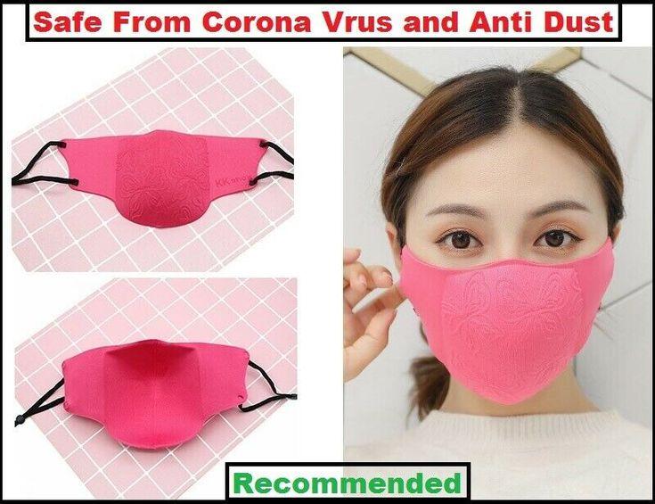 Corona Proof Face Mask Mouth Muffle Carbon corona Filter