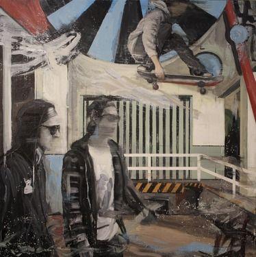 """Saatchi Art Artist Kjetil Jul; Painting, """"Hocus Pokus"""" #art"""