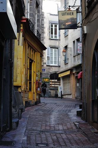 Clermont, rue de la treille