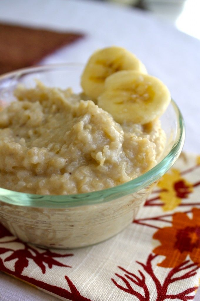 banana brown rice & other yummy baby food recipes