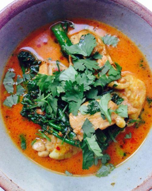 Un curry de Chiang Mai