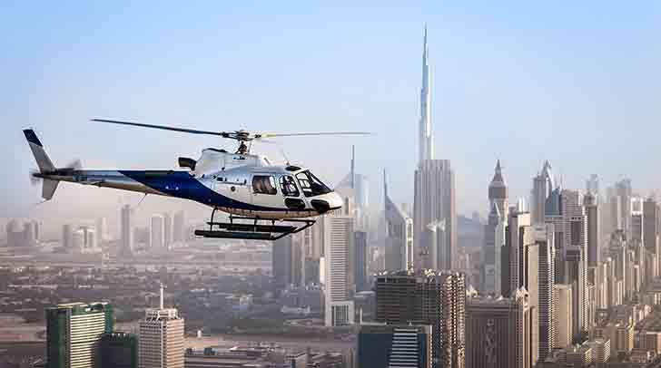 Helicopter Ride Over Dubai