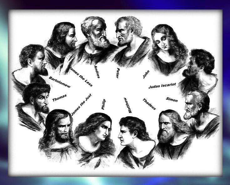 did the 12 apostles meet jesus in 1924