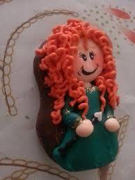 Resultado de imagen para como decorar bubulubus de princesas con royal icing