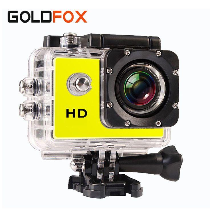 Goldfox sj 4000スポーツミニカメラ防水ビデオカムビデオカメラ720 pのhdバイクヘルメットフォトカメラ行く車プロスタイル