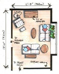 long thin living room ideas - Google Search | Home Decor ...