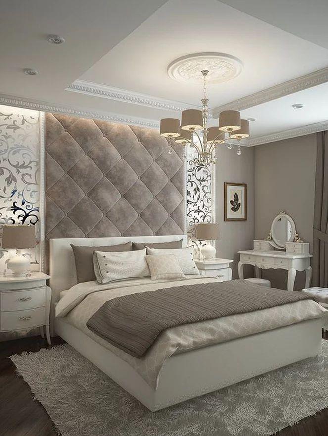 Esse quarto perfeito espelho nas laterais pintado de branco