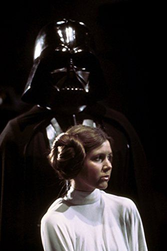 Carrie Fisher And David Prowse In Star Wars 1977 Star Wars Episode Iv Star Wars Episode 4 Classic Star Wars