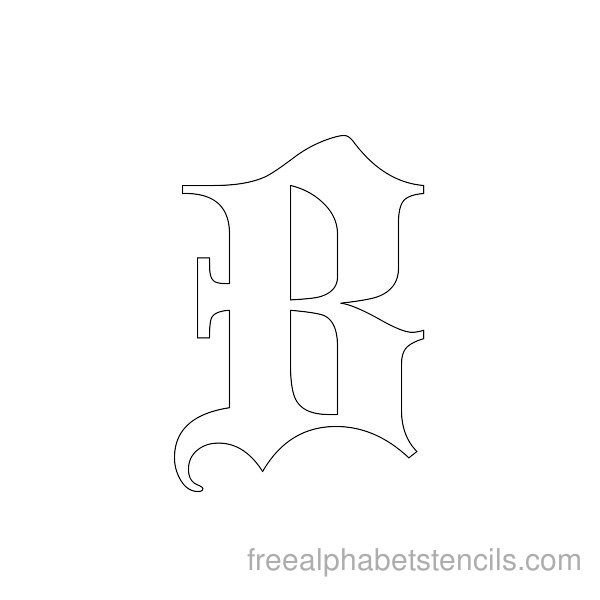 Best  Free Printable Letter Stencils Ideas On