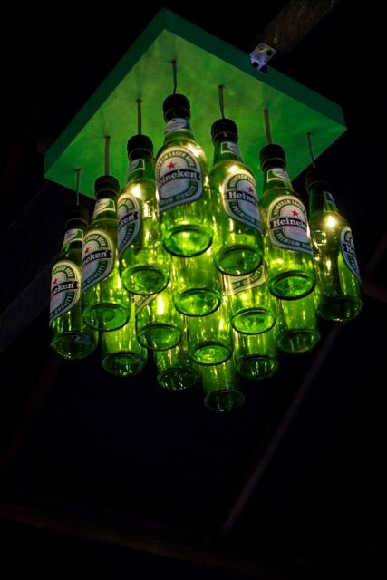would love to do this with bud light platinum bottles!
