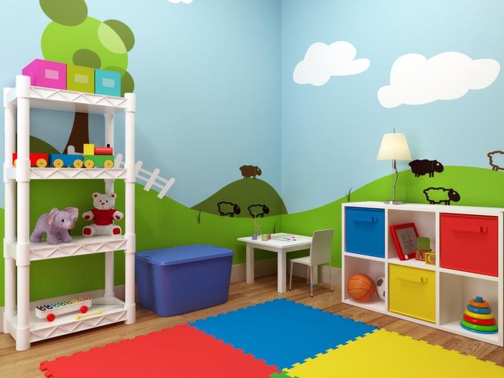 Estimula a tus hijos para ser ordenados con estantes y organizadores sencillos y coloridos.