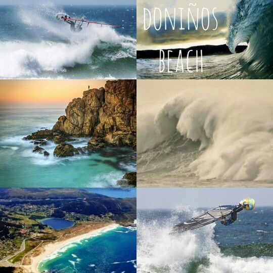 Best Wind Spots Galicia & North Portugal. Spot 15: Doniños. Located in Ferrol(La Coruña), close to San Jorge(Spot 1). Well known spot for Galician surfers and wave Windsurfers. Big waves come with winter storms to this shore.