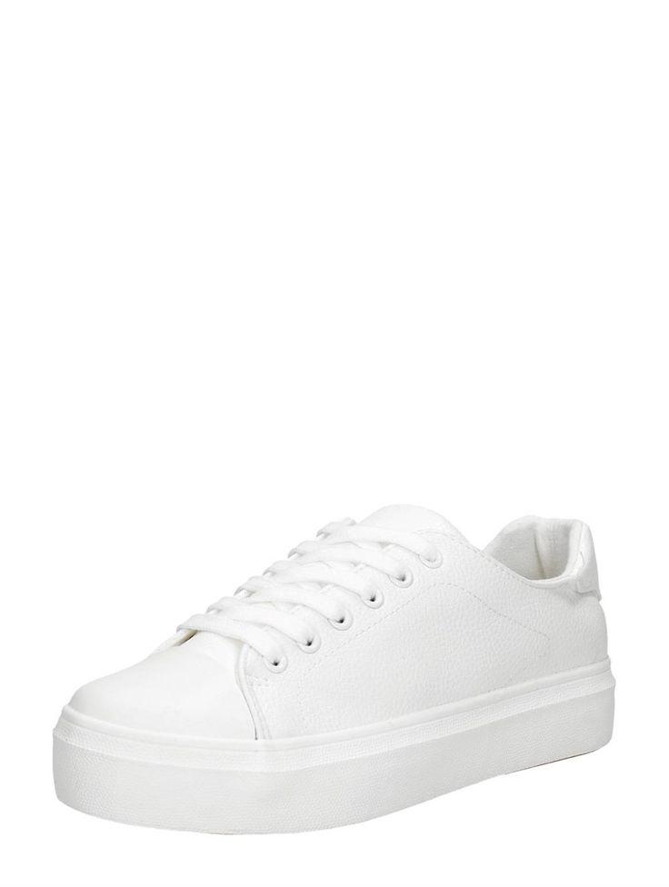 Visions simpele witte sneakers voor dames