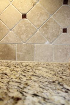 backsplash with st cecilia granite | save to ideabook email photo