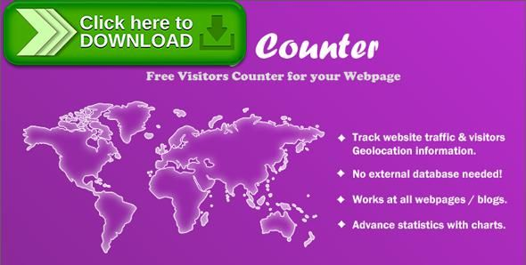 [ThemeForest]Free nulled download Flag Counter - Advance Visitors Counter from http://zippyfile.download/f.php?id=43724 Tags: ecommerce, counters, countries, flag counter, flags, geo information, hit counter, stats counter, track, track users, visitors, visitors info, widgets
