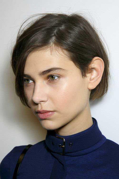 15+ Kurze Haarschnittbilder für glattes Haar