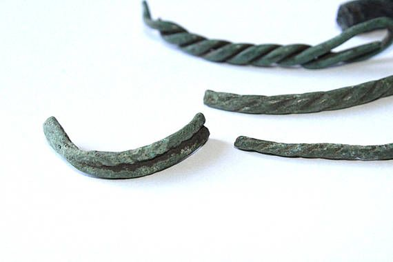 Archaeological Set, fragments different #ancient bracelets, the remains ancient bracelets, Set of archaeological finds with a metal detector.  Good shopping! #viking #amulet #antique #artifacts #bronze #authentic #archeology ➡️ http://jto.li/U6m4v