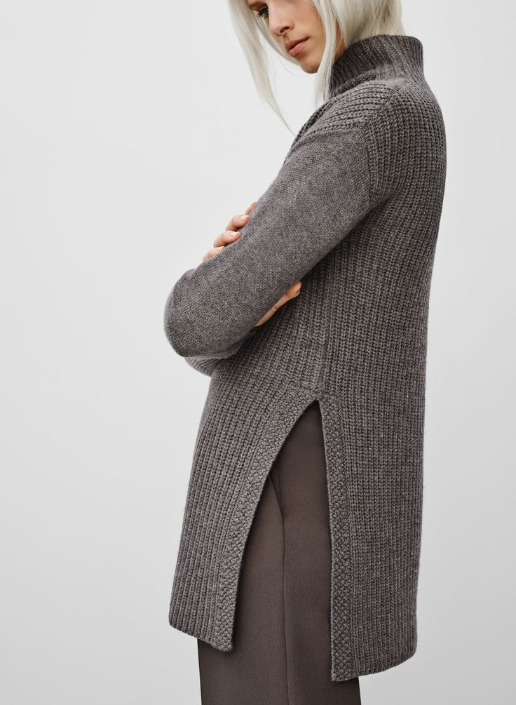 Wilfred ROUEN SWEATER | Aritzia - similar to Truss http://www.ravelry.com/patterns/library/fw15--truss
