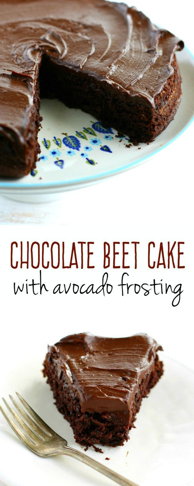 Chocolate beet cake with chocolate avocado frosting is not only incredibly delicious, it's also a healthier dessert choice! So yummy no one will ever guess it's healthy though! Gluten free, vegan, and free of the top 8 allergens!