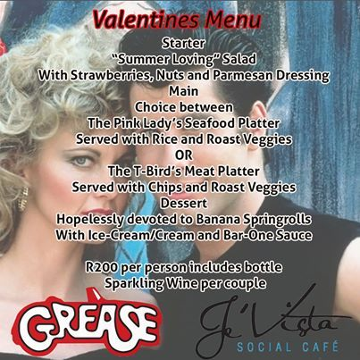 It's finally here the night of romance in the 60's. We hope to see you all and remember great special prizes to be won. #greasetheme #valentines