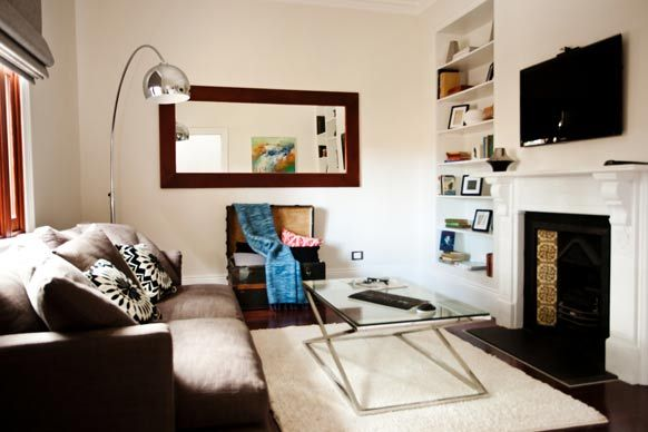 The Block ~ Brad and Lara's Living Room. A lovely formal lounge / sitting room