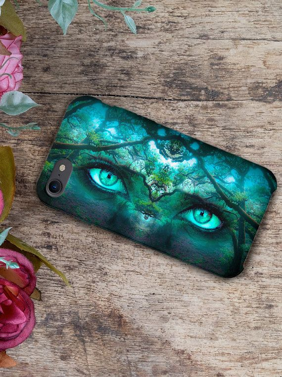 Fantasy Turquoise Eyes Mobile Case Art design for iPhone Samsung 3D print on hard plastic smartphone back cover shell  iPhone 4 / 4S iPhone 5 / 5S iPhone 5C iPhone SE iPhone 6 iPhone 6S iPhone 6 Plus iPhone 6S Plus iPhone 7 iPhone 7 Plus  Samsung Galaxy S5 / S5 mini Samsung Galaxy S6 /