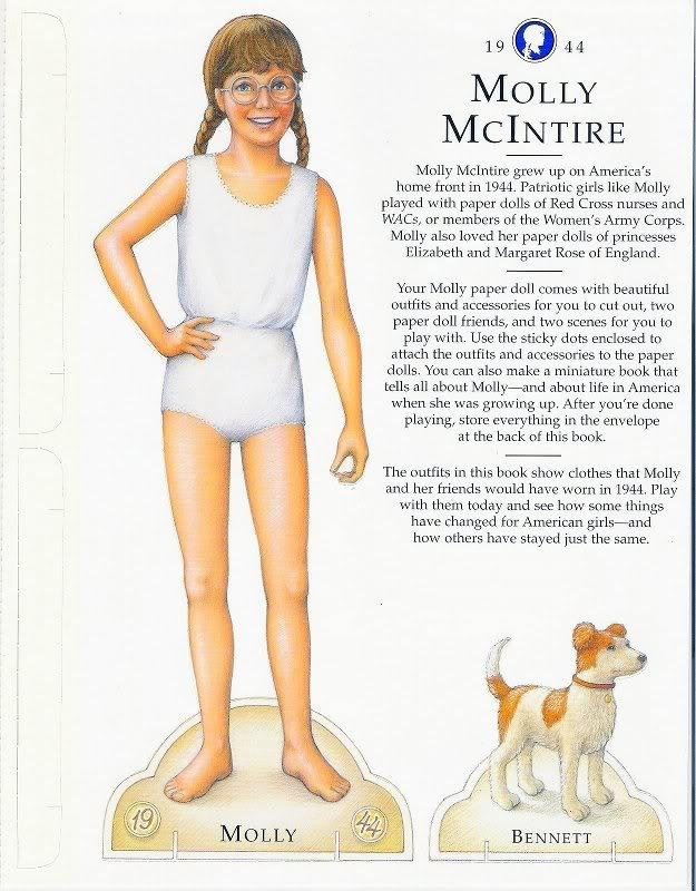 American Girl Molly McIntire