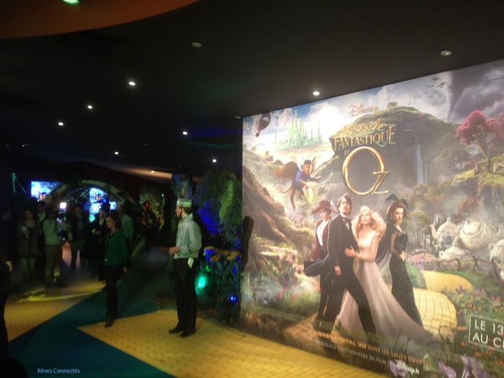 Oz the Great and Powerful / Le Monde Fantastique d'Oz. Chronique d'une avant-première et d'un film très attendu !