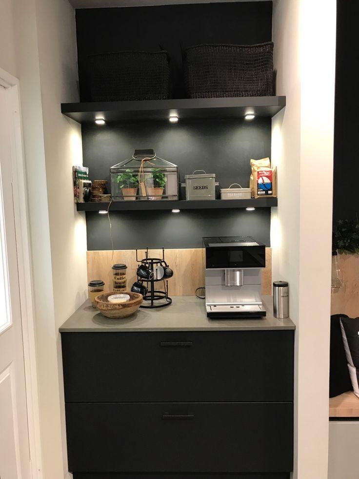 Nische Für Kaffeevollautomat Und Ablagefläche In Szene Gesetzt. Küche Und  Design Stadtlohn. Küchenhaus Krumme