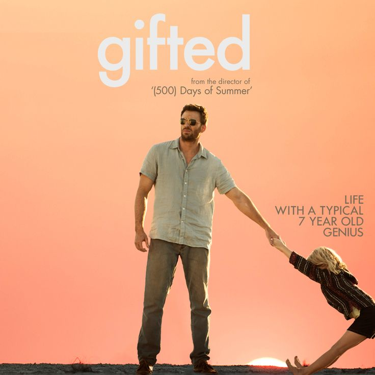 She's a kid first and a prodigy second.  Chris Evans and Mckenna Grace star in Gifted.