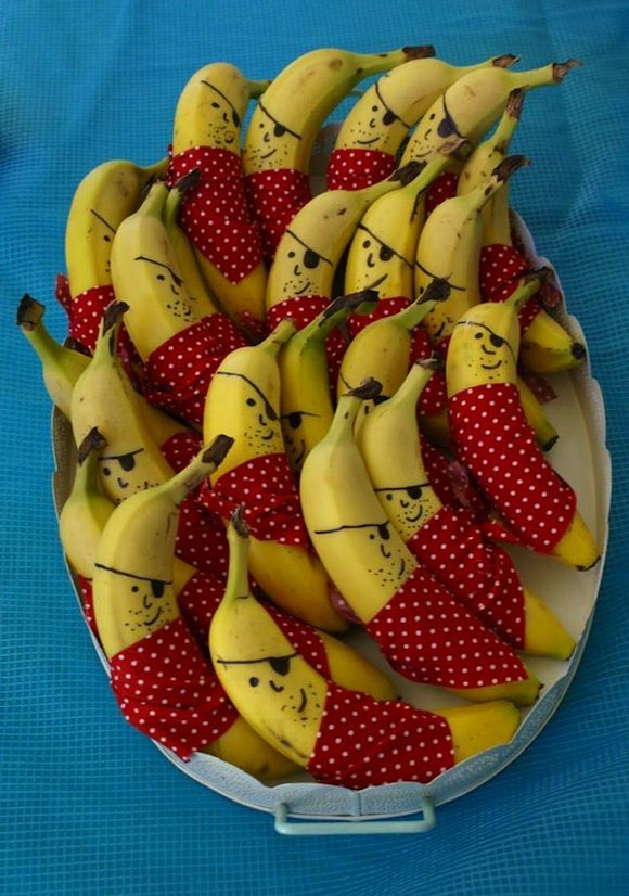 Kinderverjaardag traktatie Gezonde traktaties met banaan- healthy treats with bananas