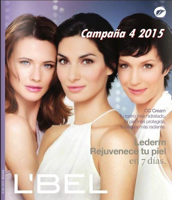 Catalogo 4 de 2015 de Lbel Bolivia