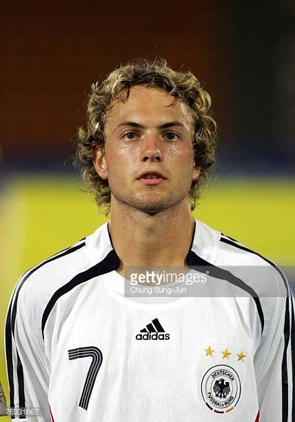 Henning Sauerbier of Germany poses before the FIFA U17 World Cup group F match between Germany and Trinidad and Tobago at the Changwon Sports Complex...