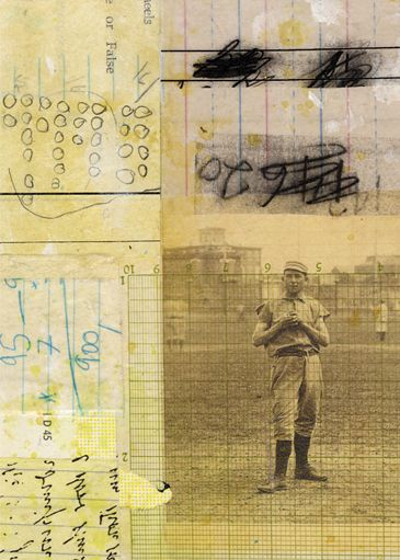 A Collage A Day: Quaker Pitcher, by Randel Plowman