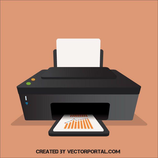 printer vector clip art vetores impressora tema printer vector clip art vetores
