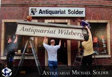 Antiquariat Solder Münster - Drehort für die Wilsberg-Krimis