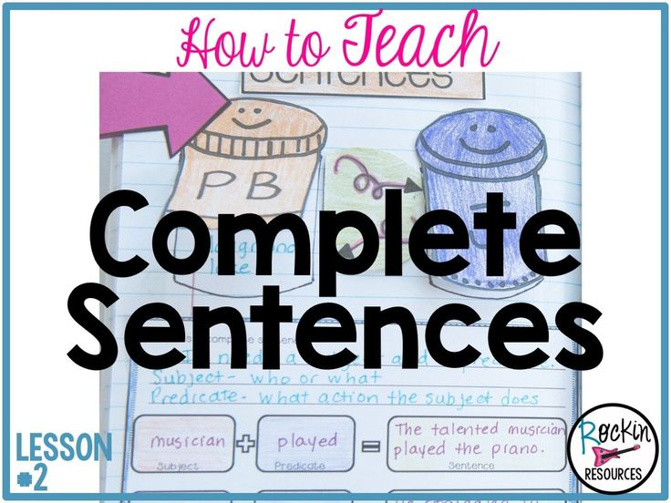 This lesson will focus on writing COMPLETE SENTENCES. Writing in complete sentences is the first basic lesson every student should learn. It will help them when writing in journals, responses to reading, paragraphs, essays, book reports and so much more. It will lay the foundation for good writing throughout the year! Use visual ideas and modeled examples to help students with long term comprehension. Read on to learn how to teach complete sentences using subjects and predicates. If you…