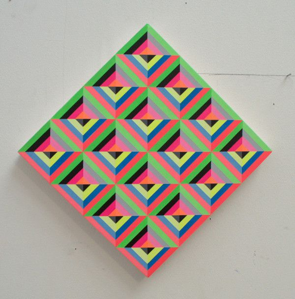Neometry Geometric Paintings by Carl Cashman.