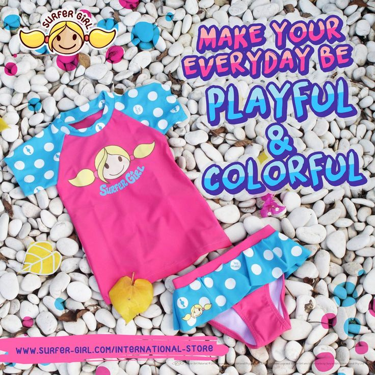 Everyday is a gift to our lives :) Color up each day by celebrating the littlest achievements and simple moments in life ^^ Love, Summer <3 #surfergirl #mixandmatch #teenagefashion #kidsfashion