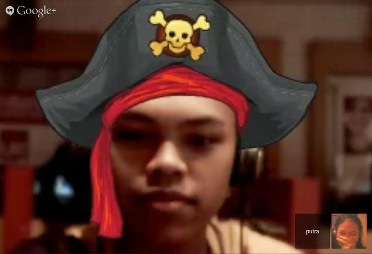 bajak laut dari sungai Mahakam @Putra Wijaya
