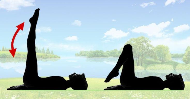 Len 5 minút pred spánkom – Pevnejšie stehná a brucho sú zaručené! Zapojte sa do tohto cvičenia a budete potrebovať menšie nohavice   Báječné Ženy